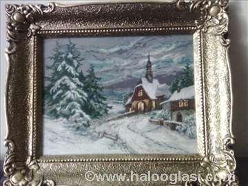 Vilerov goblen-Crkvica u snegu