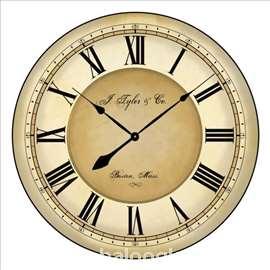 Zidni sat retro 40 cm