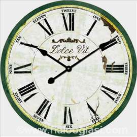 Zidni sat retro 60 cm