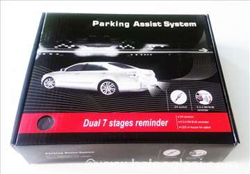 Parking senzori sivi