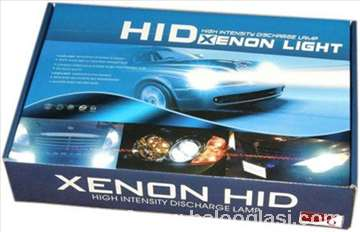 Xenon kompletu h4 bi 6000k