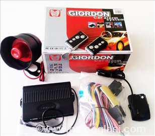 Auto alarm Giordon