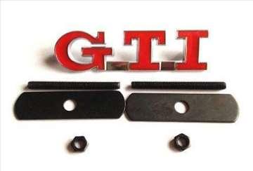 GTI znak za prednju resetku
