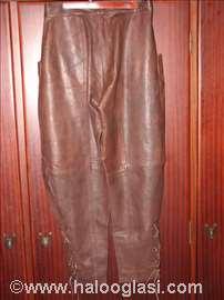 Ženske kožne pantalone