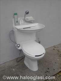Mini kupatilo na jednom metru kvadratnom.