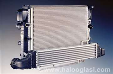 Hladnjak motora Fiat Punto 99- 1.2 Ac-/+