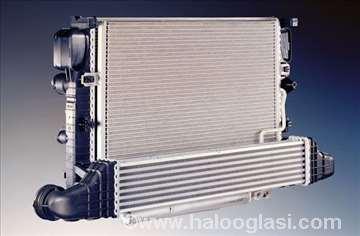 Hladnjak motora  VW Golf 2 1.6B, 1.6D