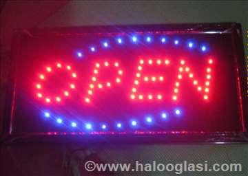 Led svetleća reklama Open