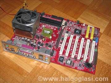 MSI KT4V + AMD AthlonXP 2400+