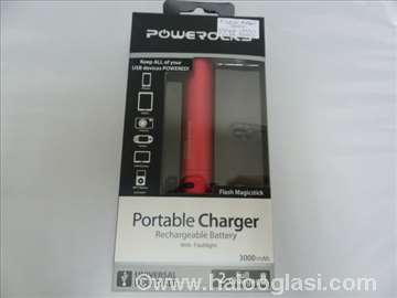 Power bank Powerocks 3000mAh