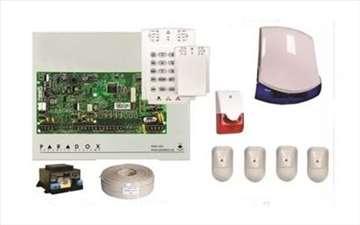 Alarmni sistem Paradox sa 4 senzora pokreta