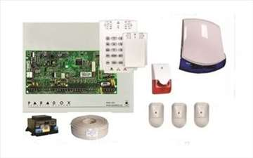 Alarmni sitem paradox sa 3 senzora pokreta