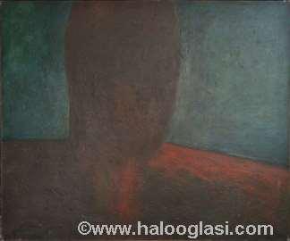 Bez naziva, ulje na platnu, 100x120cm, 1996.god