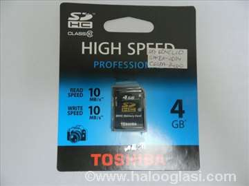 Toshiba memorijska kartica 4GB