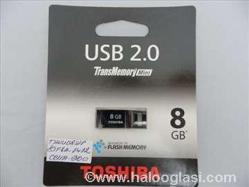 Toshiba USB 8GB flash memory