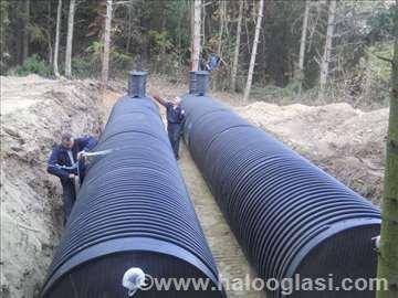 Cisterne za vodu,horizontalni rezervoari