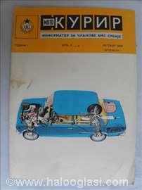 Moto Kurir br.5-6, 16 strana, A 5 format.