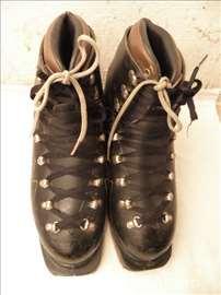 Starinske ski cipele Tyrol, Austria, kožne