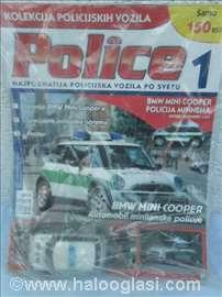 Amer Mini Cooper Polizai,1:43,nov u blisteru