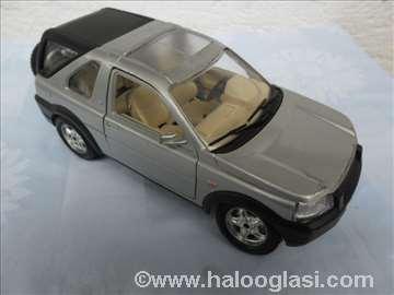 Burago Land Rover, 1/ 24, srebrni II