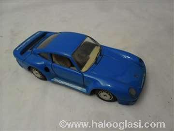 Burago Porsche 959 , 1/ 24, plavi