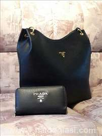 Extra kvalitetna PRADA torba (teget, crna i braon)