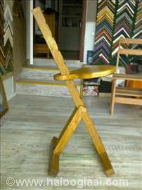 Podesiva stolica na sklapanje