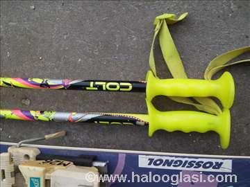 Skije Rosignol i štapovi Colt