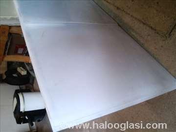 Akrilon beli plastiglas (pleksiglas) debljine 2mm