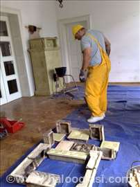 Kaljeve peći - preziđivanje, obnova ložišta
