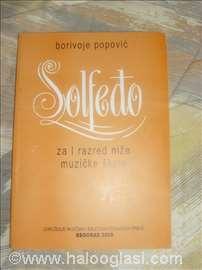 Solfeđo za I razred nmš- Borivoje Popović