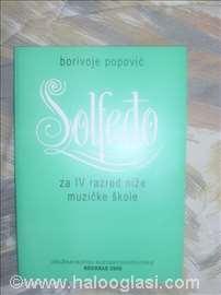 Solfeđo za IV razred nmš - Borivoje Popović