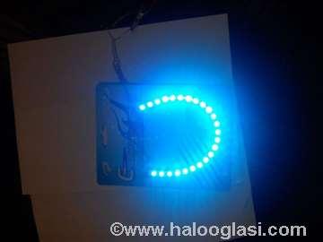 Diodna traka u silikonu-plava