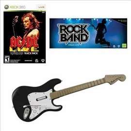 Bežična gitara Rock Band za Xbox 360