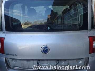 Fiat Multipla novi model gepek vrata