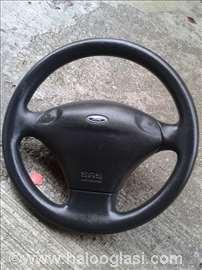 Ford Fiesta 01 volan+beg