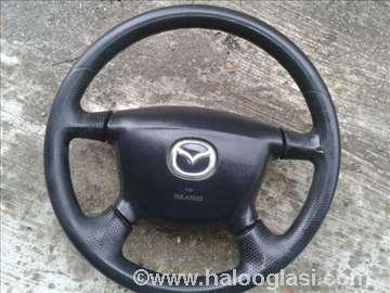 Mazda 323 01 volan+airbag Cena kompleta
