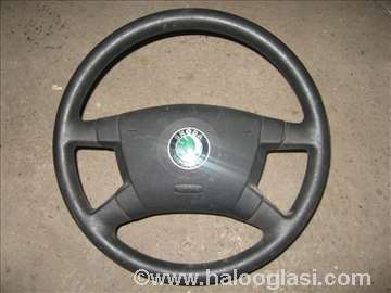 Volan+airbag Skoda Fabia 02-04