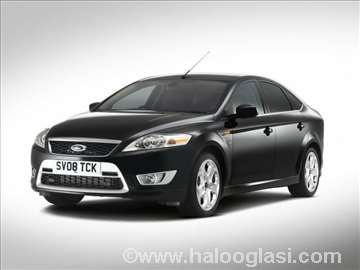 Ford mondeo 4 1.6tdci 115ks turbina