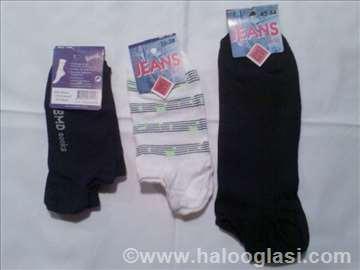 Pamučne kratke čarape (nazuvke)