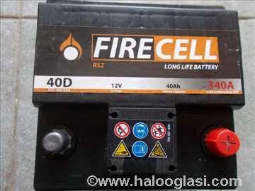 Akumulator  FIRECELL 40Ah D+