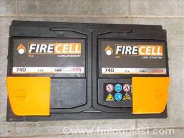 Akumulator  FIRECELL 74 Ah D+