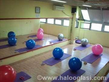Iznajmljujem fitnes studio za yogu i pilates
