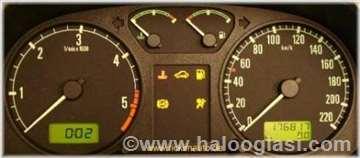 Popravka digitalnih i mehaničkih kilometraža