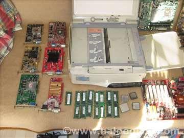 8 memorija 1GB DDR2, 6 grafika, 4 procesora