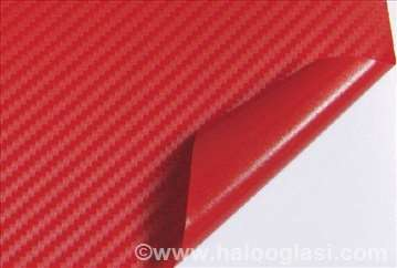 Carbon 3D BUBBLE FREE crveni