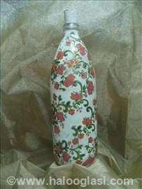 Decoupage flaša (1 litar)