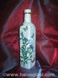 Decoupage flaša