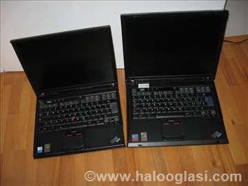 Laptopovi IBM T40 i R50