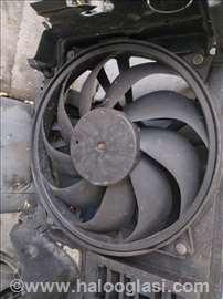 Ventilator motora citroen pezo